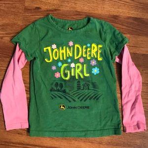 Girls John Deere Shirt